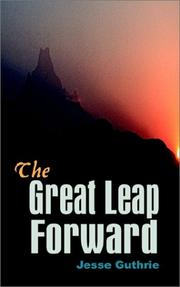 Cover of: The Great Leap Forward