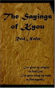 Cover of: The Sayings of Kyou