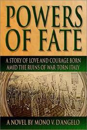 Cover of: Powers of Fate | Mono V. D