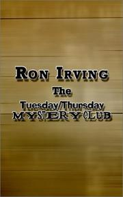 Cover of: The Tuesday/Thursday Mystery Club