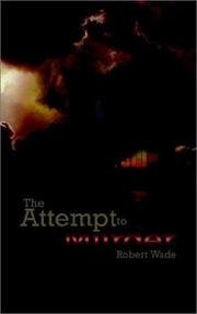 Cover of: The Attempt to Murder