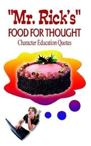 Cover of: Mr. Rick's Food for Thought