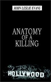 Cover of: Anatomy of a Killing