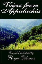 Cover of: Voices from Appalachia