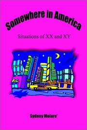 Cover of: Somewhere in America: Situations of XX and Xy