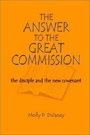 Cover of: The Answer to the Great Commission | Molly P. Dulaney