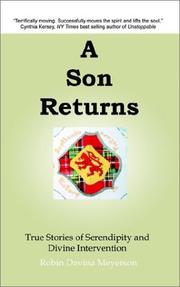 Cover of: A Son Returns