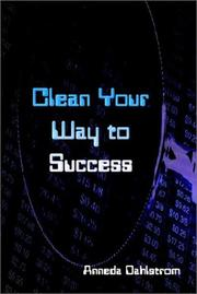 Cover of: Clean Your Way to Success