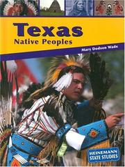 Cover of: Texas Native Peoples