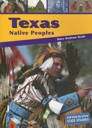 Cover of: Texas Native Peoples (State Studies-Texas)