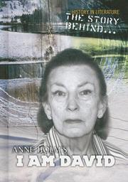 Cover of: The Story Behind Anne Holm's I Am David (History in Literature)