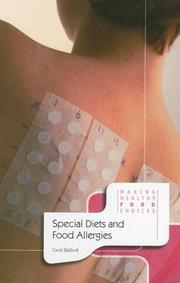 Cover of: Special Diets And Food Allergies (Making Healthy Food Choices)