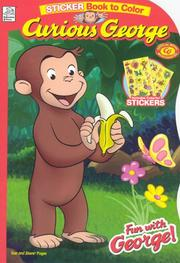Cover of: Movie Shaped Sticker Book to Color |