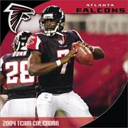 Cover of: Atlanta Falcons 2004 16-month wall calendar