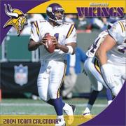 Cover of: Minnesota Vikings 2004 16-month wall calendar