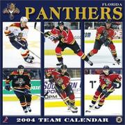 Cover of: Florida Panthers 2004 16-month wall calendar