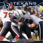 Cover of: Houston Texans 2007 Calendar