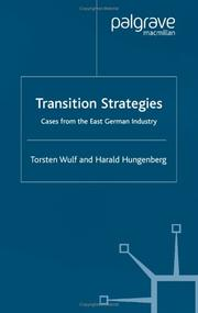 Cover of: Transition strategies |