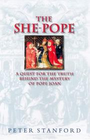 Cover of: The She-Pope | Peter Stanford