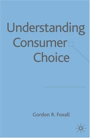 Cover of: Understanding Consumer Choice
