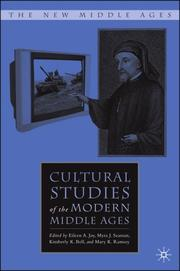 Cover of: Cultural Studies of the Modern Middle Ages (The New Middle Ages) |
