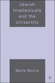 Cover of: Jewish Intellectuals and the University