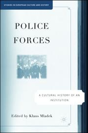 Cover of: Police Forces