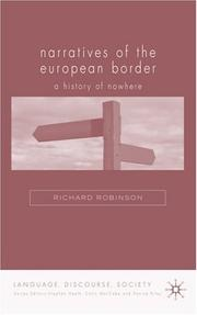 Cover of: History of Nowhere: Border Space (Language, Discourse, Society)