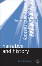 Cover of: Narrative and History (Theory and History)