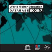 Cover of: World Higher Education Database Network 2006/7 | International Association of Universities.