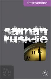Cover of: Salman Rushdie (New British Fiction) | Stephen Morton