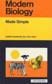 Cover of: Modern Biology Made Simple