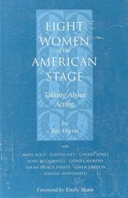 Cover of: Eight Women of the American Stage: Talking About Acting