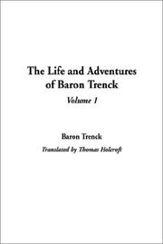 Cover of: The Life and Adventures of Baron Trenck | Baron Trenck