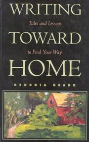 Cover of: Writing toward home