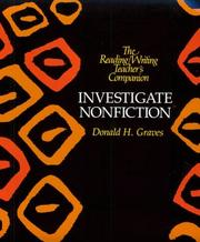 Cover of: Investigate nonfiction | Donald H. Graves