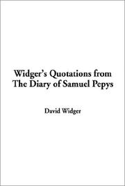 Cover of: Widger