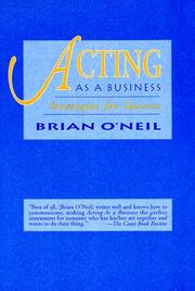 Cover of: Acting as a Business
