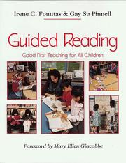 Cover of: Guided Reading: good first teaching for all children