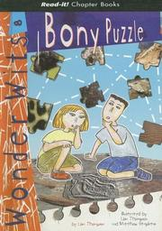 Cover of: Bony Puzzle (Read-It! Chapter Books)
