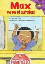 Cover of: Max Va En El Autobus