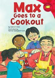 Cover of: Max goes to a cookout