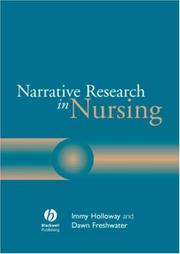 Cover of: Narrative Research in Nursing | Immy Holloway