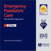 Cover of: Emergency Paediatric Care CD-ROM