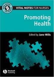 Cover of: Vital Notes for Nurses | Jane Wills