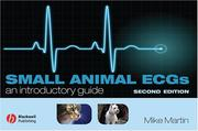 Cover of: Small animal ECGs