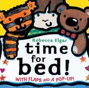 Cover of: Time for Bed