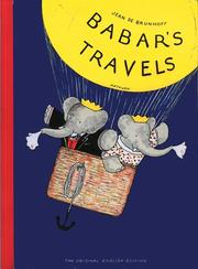 Cover of: Babar's Travels