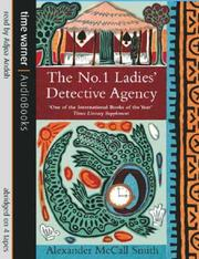 Cover of: The No.1 Ladies' Detective Agency (No 1 Ladies Detective Agency 1)