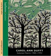 Cover of: Carol Ann Duffy
